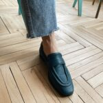 Blue-leather-woman-loafers-Molecule-8